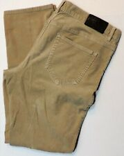 Michael Kors Mens Tailored Fit Stretch Corduroy Jeans Size 34x32 Sanitized