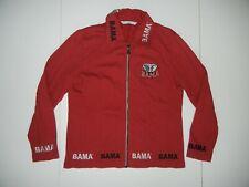 ALABAMA CRIMSON TIDE Red Football COLLEGE JACKET Cotton Jacket Coat Sz Women SM