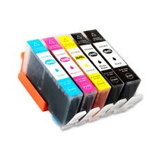 Compatible 364XL 5 Set Inks CMYK+PBK CB322EE / N9J74AE for HP Deskjet D5460