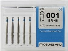 Dental Diamond Burs, Standard Grit Multi-Use, 5 Pcs/Pk [001BR-46]
