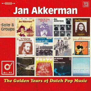 Jan Akkerman  ‎– The Golden Years Of Dutch Pop Music  2-cd Brainbox