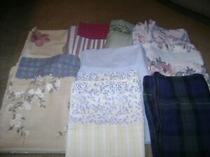 28 Pillowcases...Vintage/Floral/Solid/Character/King/Standard