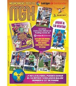 PANINI MEGACRACKS 2021/22 LA LIGA  1-180 AU CHOIX 3+7 FREE !!!  MGK