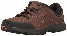 Rockport Men's Chranson Walking Shoe Dark Brown/Black 8.5 W EE-8.5 W