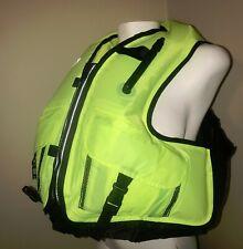 """AMER-SEA Inflatable Snorkeling Jacket Vest Sz Adult Waist 30""""-52"""" NEW"""