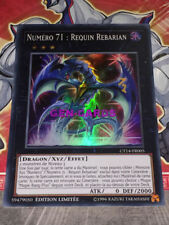Carte YU GI OH NUMERO 71 : REQUIN REBARIAN CT14-FR005
