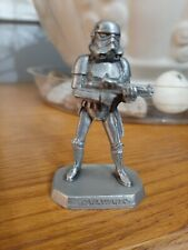 Stormtrooper | Vintage 1990s Star Wars Figure by Rawcliffe Pewter
