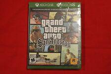 Grand Theft Auto San Andreas Xbox One New! Cib 1819