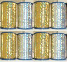 LUREX High Quality Thread set of 8 Spools 2500 Mtrs each - Good quality
