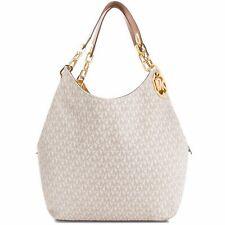 Michael Kors Tasche Handtasche Fulton LG  Chain Shoulder Tote Vanilla neu