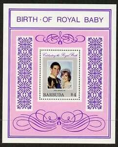 Barbuda 535 MNH Princess Diana, Birth of Prince William