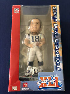 Peyton Manning Colts Super Bowl XLI Player Bobble Forever Collectables Ltd. Ed.