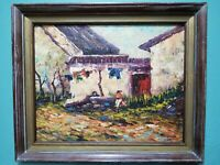 Peter Tang (20th Century) oil on canvas Listed China/USA Artist