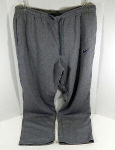 Texas Christian University TCU Men's Grey Travel Pants Nike 4XL Used 711338S