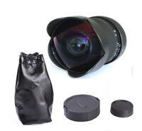 Super Wide Angle 8mm f/3.5 Fisheye Lens Manual Focus For Nikon D7000 D5200 D3200