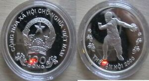VIETNAM for 2000 SYDNEY Olympics. Silver proof coin.