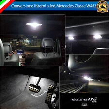KIT FULL LED INTERNI MERCEDES CLASSE G W463 CONVERSIONE COMPLETA 6000K NO AVARIA