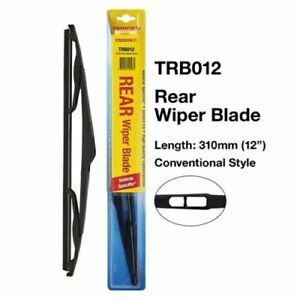 Tridon Rear Wiper Blade TRB012 For Holden Astra AH 1.8i 2.2i 1.9CDTI 2005-2010
