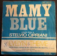 """Stelvio Cipriani – Mamy Blue 45 giri 1971 Colonna Sonora """"Ecologia del delitto"""""""