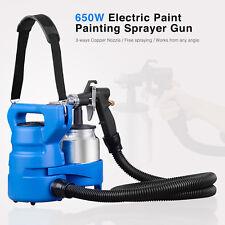 650W Electric Painting Paint Sprayer Gun 3-ways Copper Nozzle Handheld House