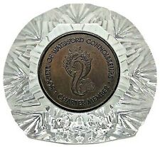 Waterford Crystal Paperweight Charter Member Society of Waterford Connoisseurs