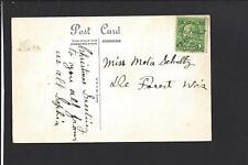 DEFOREST, WISCONSIN,1930 POSTCARD, PEN RFD CANCEL .DANE CO. 1872/OP.