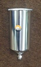 1000cc Aluminum Gravity Cup  - Fits Import guns and others -  M16 x 1.5