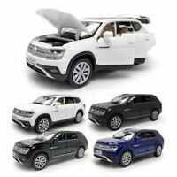 1:32 Teramont SUV Metall Die Cast Modellauto Auto Spielzeug Model Ton & Licht