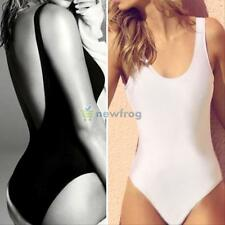 Summer Women One Piece Bikini Monokini Swimsuit Padded Backless Swimwear LOT BG
