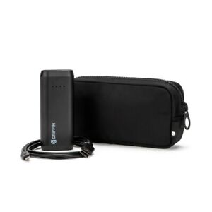 Incase x Griffin Power Bundle - Nylon Accessory Pouch and 4,000mAh Power Bank