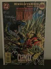 Batman Legends of The Dark Knight 63 NM, Signed with Certificate