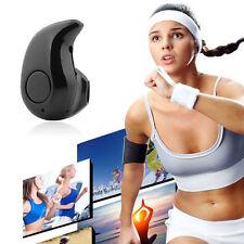 New Smallest Wireles Bluetooth 4.1 Stereo In-Ear Headset Earphone Earpiece Black