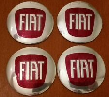 Set of 4pcs FIAT emblem logo insignia 56,5mm - for hub caps