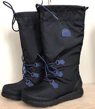 Sorel Waterproof Women's Winter Rain Boots NL1708-010, Black, New, Size 8