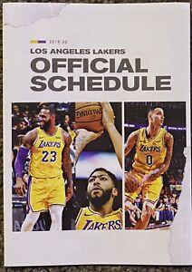 LEBRON JAMES 2019-2020 Los Angeles Lakers Schedule 🏀 Cool NBA Sked 🏀