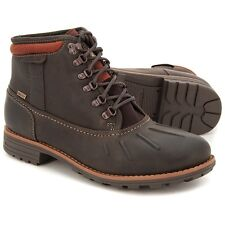 Clarks MEN ** BROWN MIDFORD UP GTX ** 100% WARM LINING Ankle Boots ** UK 10.5 G