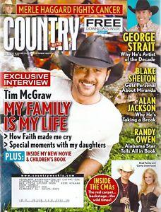 Country Weekly Magazine Dec 15 2008 Tim McGraw Mark Wills Randy Owen Luke Bryan