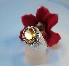 Luxuriöser Ring mit Stein 925 Silber Fingerring Silberring  / bc 208