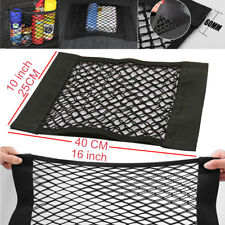 "Car Auto16x10"" Cargo Nets Storage Magic Sticke High Elastic Double Mesh Interior"