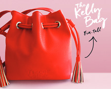 Tanger Outlets -The Kelly Bag- Mini Drawstring Red Bag Reward Purse