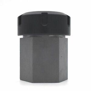 ER40 Hex Collet Block - With Collet Nut