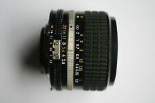 Nikon AF Nikkor 24mm f/2.8 AIS Lens + CAPS  NIKON 24 mm 2.8