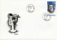 Czech Rep 2017 FDC Poet Josef Kainar 1v Cover Poets Writers Literature Stamps