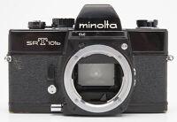 Minolta SR-T 101b Gehäuse Body analoge Spiegelreflexkamera schwarz