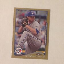 DREW HUTCHISON #486 Blue Jays 01/63 Made an ebay 1/1 ? Gold 2014 Topps Mini