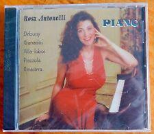 Rosa Antonelli Piano-Debussy/Granados/Villa-lobos/Pizzola/Ginastera [CD New]