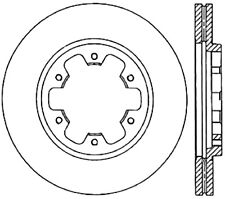 Disc Brake Rotor-4WD Front Right Stoptech 128.42029R