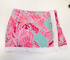 Lilly Pulitzer Pink Print Skort girls size 7