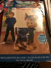 "Paw Patrol Chase Airwalker 54"" Balloon Birthday Party Decorations"