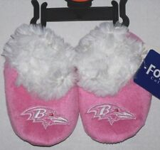 Baltimore Ravens NFL Baby Infant Pink BOOTIES Size Medium 6/9 Months